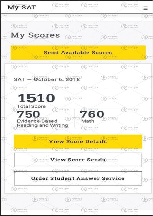 قبولی تضمینی در آزمون اس ای تی